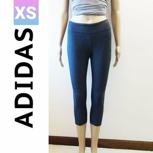 Adidas Climalite Grey Capris Leggings (XS)